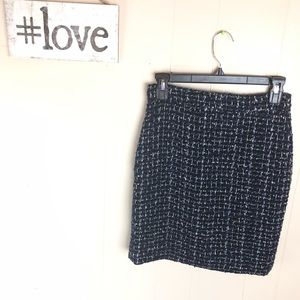 The Pencil Skirt J. Crew Tweed